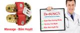 Chiết Khấu Dep Massage Bấm Huyệt Dr Sung Đỏ Facare