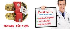 Hình ảnh Dép Massage - Bấm Huyệt Dr.Sung (Đỏ)