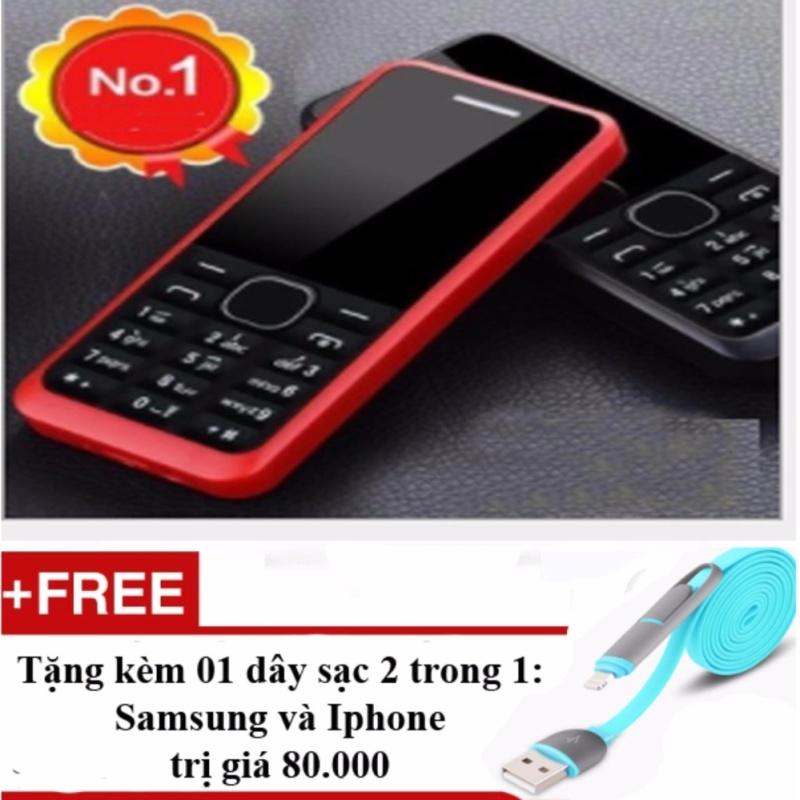 Điện thoại bàn phím to và chữ lớn dành cho người lớn tuổi + 01 dây sạc điện thoại 2 trong 1 tốt nhất