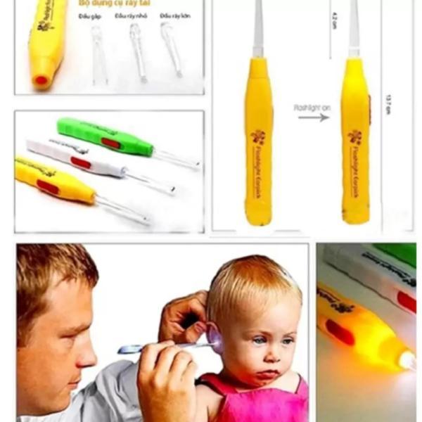Dụng cụ lấy ráy tai có đèn cho bé HT250 cao cấp