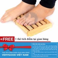 Hình ảnh Dụng Cụ Massage Chân Bằng Gỗ + Tặng kèm 1 thẻ tích điểm nhận quà tại gian hàng Verygood