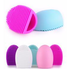 Chiết Khấu Dụng Cụ Vệ Sinh Cọ Quả Trứng Brushegg Cosmetic Brush Cleaning Tool Black Brush