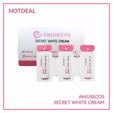 Dung dịch làm hồng và se khít vùng kín Amusecos Secret White Cream 1mlx3