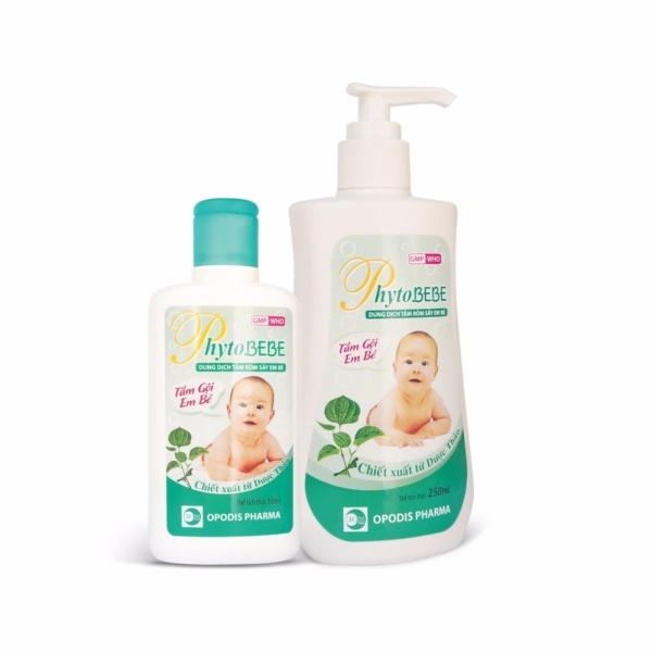 Dung dịch tắm rôm sảy em bé Phytobebe 250ml nhập khẩu