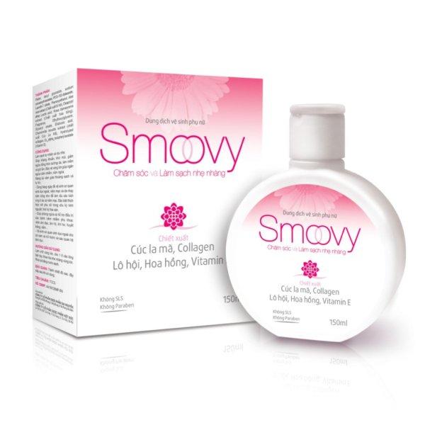 Dung dịch vệ sinh phụ nữ Smoovy - Nuôi dưỡng và trẻ hoá da vùng kín