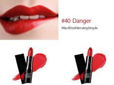 Eglips Real Color Lipstick 40 Danger Tặng Moc Khoa Cao Cấp Trị Gia 50K Eglips Chiết Khấu 40