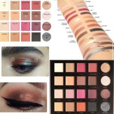FOCALLURE 20 Color Eyeshadow Palette Cosmetic Matte Eyeshadow Cream Glitter Powder Eye Makeup - intl