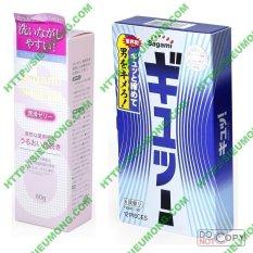 Gel bôi trơn Original và Hộp 12 bao cao su Sagami TightFit