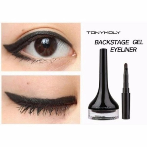 Gel kẻ mắt Tonymoly Backstage Gel Eyeliner 4g - Màu đen 01