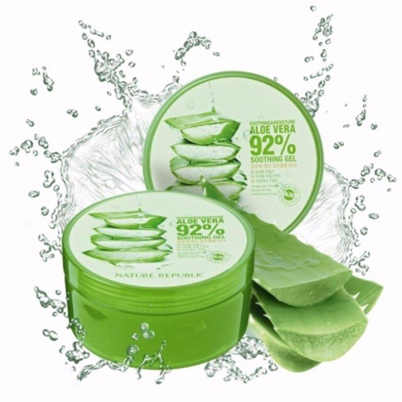 Gel Lô Hội Làm Đẹp Đa Công Dụng Nature Republic Aloe Vera 92% Soothing Gel 300ml cao cấp