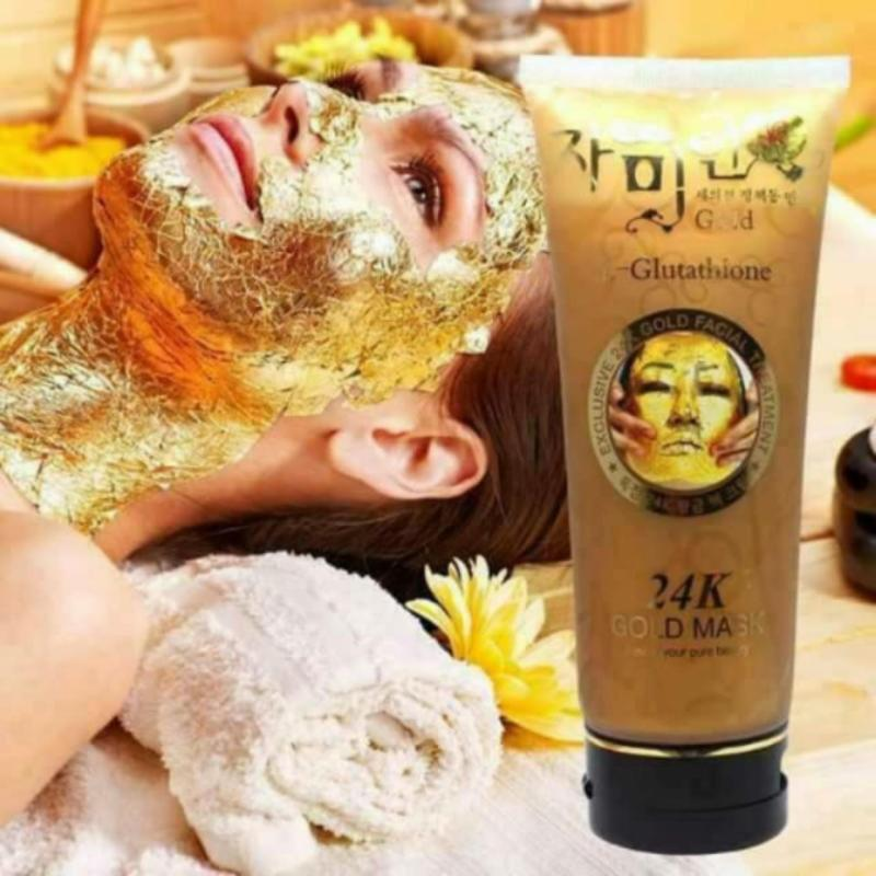Gel Mặt Nạ Lột Dưỡng Trắng Sáng Da 24K (L- Glutathione ) - 24k Gold Mask nhập khẩu