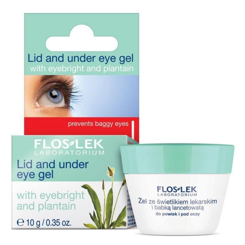 Gel ngăn ngừa hình thành bọng mắt Floslek - eyebright và hoa chuối