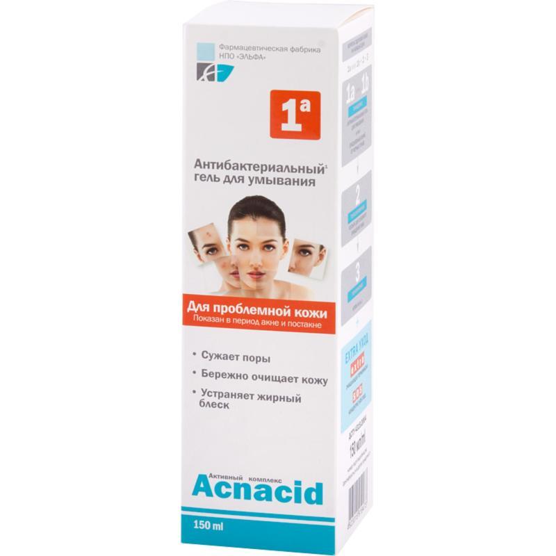 Gel rửa mặt kháng khuẩn Farmasevticheskaya Fabrika Elfa 150ml nhập khẩu