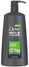 Gel tắm & rửa mặt 2 trong 1 cho nam Dove Men+Care Body and Face Wash Extra Fresh 694ml (Mỹ) nhập khẩu
