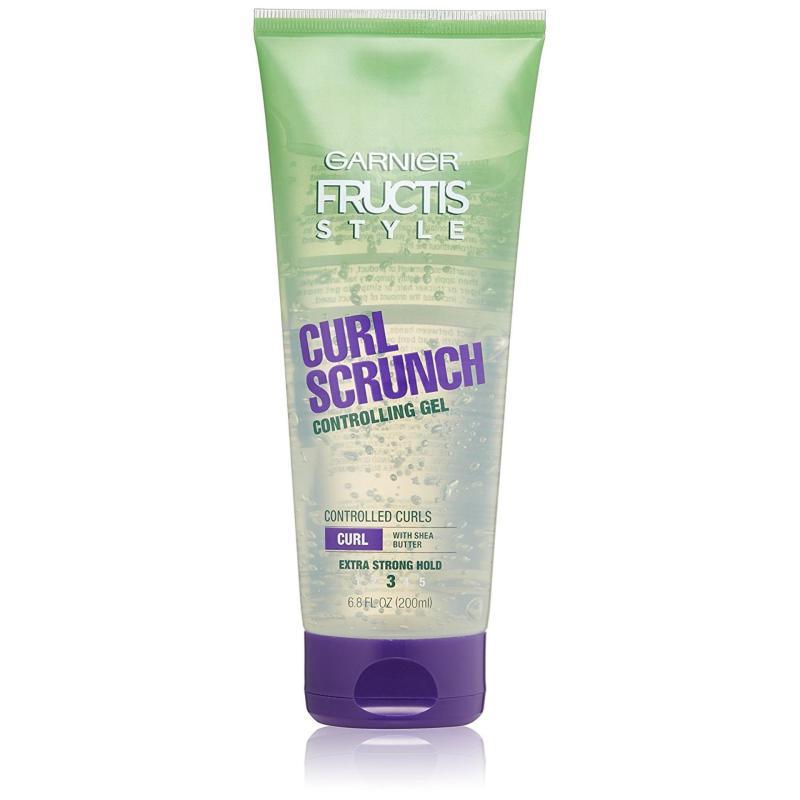 Gel tạo hình tóc Garnier Fructis Style Curl Scrunch Controlling Gel Curly Hair 200ml (Mỹ) giá rẻ