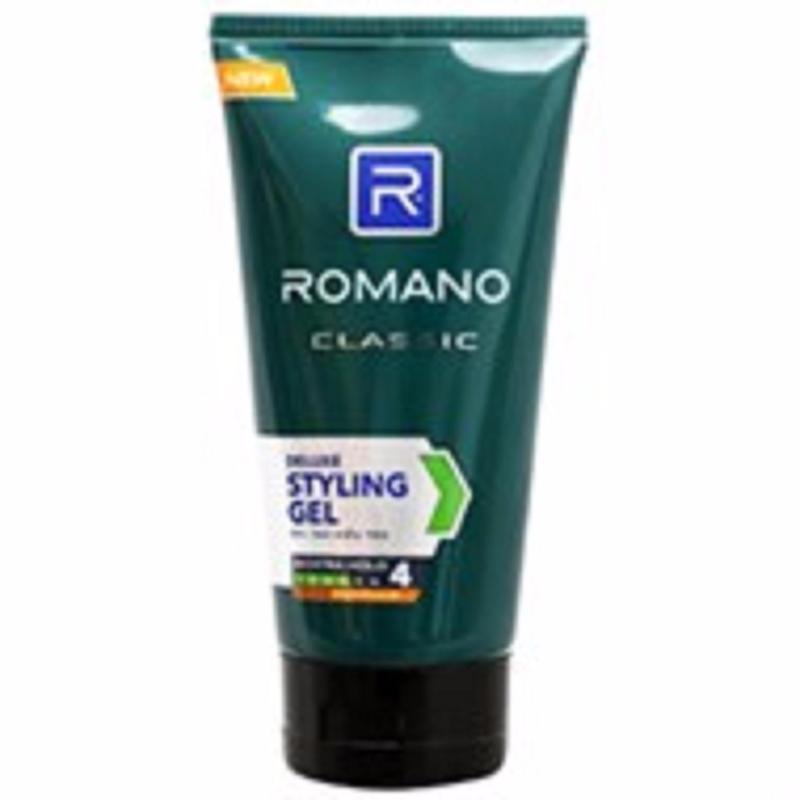 Gel vuốt tóc Romano Classic giữ tóc cứng vừa loại 4.150g Đen giá rẻ