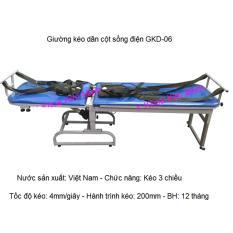Hình ảnh Giường kéo dãn cột sống lưng cổ bằng điện 3 chiều GKD-06