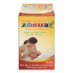 Giúp tăng tiết sữa Zosua dạng viên
