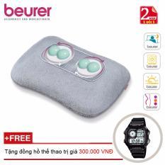 Mua Gối Massage Co Đen Hồng Ngoại Beurer Mg145 Tặng Đồng Hồ Thể Thao Chinh Hang Beurer Nguyên
