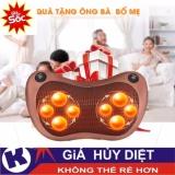 Gối Massage Hồng Ngoại 8 Bi Mẫu Mới Đảo Chiều Tự Động Loại 1 Oem Chiết Khấu 40