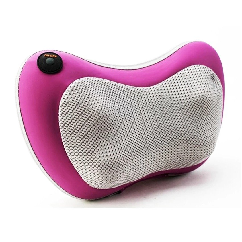 Gối massage hồng ngoại Fiamma massage Pillow FL-819 (Trắng phối tím)