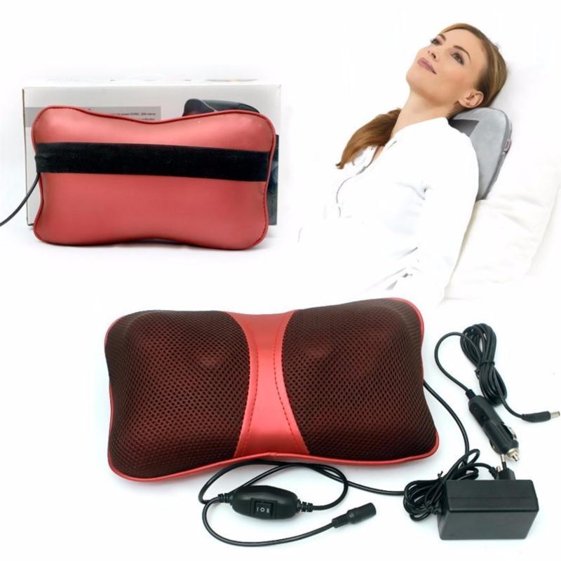 Gối Massage tia hồng ngoại 818 LMart cao cấp