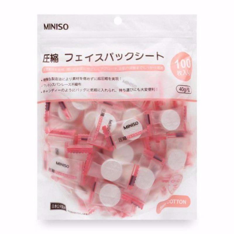 Gói Mặt nạ nén Miniso 100 chiếc/gói - Japan
