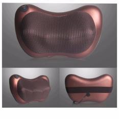 Ôn Tập Gối Mat Xa Hồng Ngoại Massage Pillow Nau Hang Nhập Khẩu