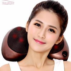 Bán Gối Mat Xa Hồng Ngoại Massager Pillow Fp 818 6 Bi Hồng Ngoại Mới