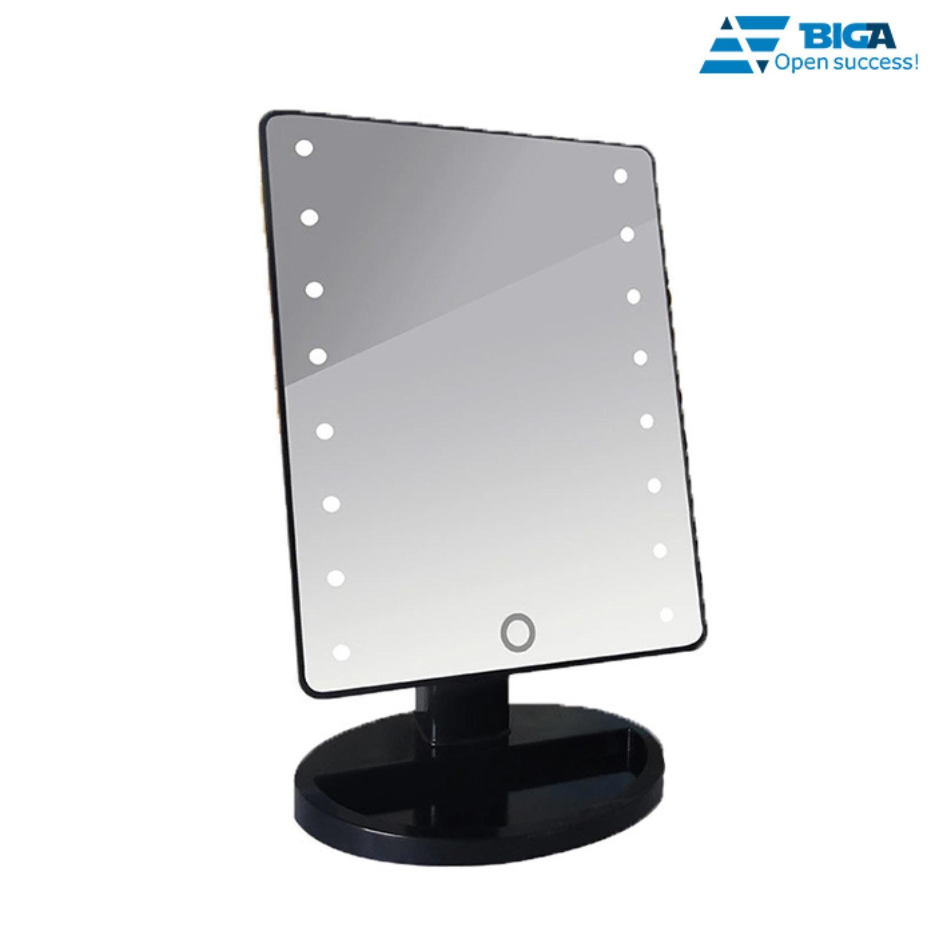 Gương Trang Điểm Đẳng Cấp Có Đèn 16 Led (Màu Sắc Ngẫu Nhiên) US05241 tốt nhất