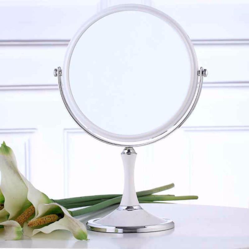 Gương Trang Điểm Để Bàn 2 Mặt  Xoay 360 nhập khẩu