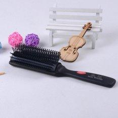 Hình ảnh Tay cầm Chống tĩnh điện Nhiệt Cắt Tóc Detangling Tạo Kiểu Tóc Salon Tóc Thông Hơi Chải-quốc tế