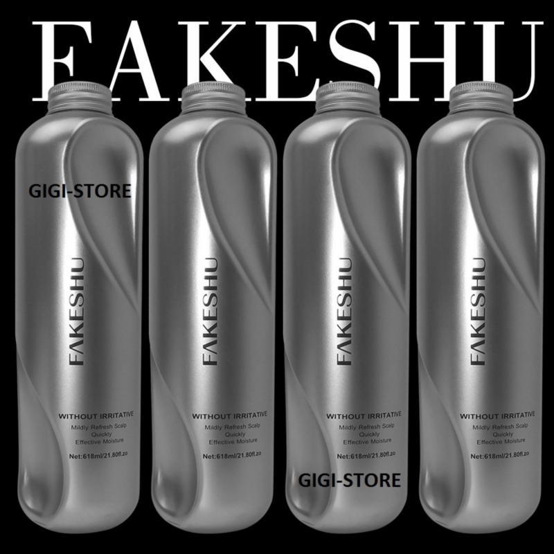 Hấp tóc phủ lụa tơ tằm Fakeshu 618ml nhập khẩu