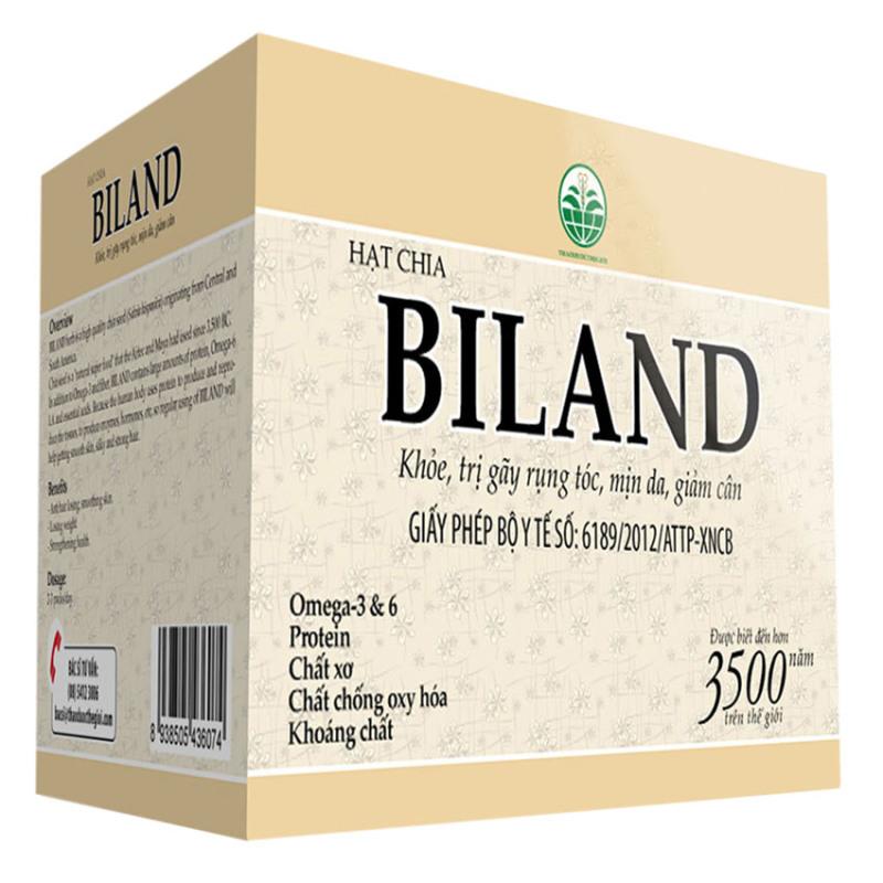 Hạt chia giảm cân BILAND  HC500 500G cao cấp