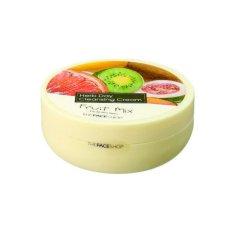 THEFACESHOP - Kem Tẩy Trang Làm Sáng Da HERB DAY CLEANSING CREAM - FRUIT MIX 150ML