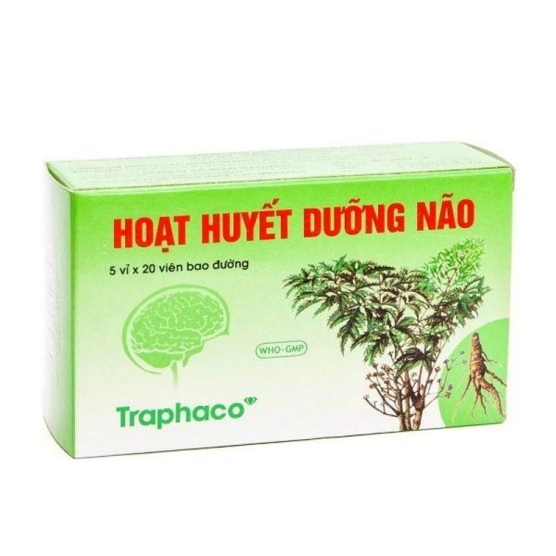 Hoạt huyết dưỡng não Traphaco (Hộp 100 viên bao đường) tốt nhất