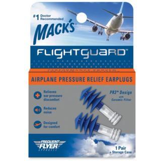 Hộp 1 đôi nút bảo vệ tai chống ù tai khi giảm áp suất trên máy bay - Flightguard Airplane Pressure - Mack s (USA) thumbnail