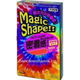 Hộp 10 Bao Cao Su Mo Phỏng Hinh Dang 3D Sagami Magic Shape Hà Nội