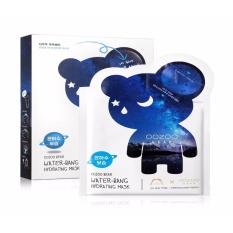 Mã Khuyến Mại Hộp 10 Mặt Nạ Cấp Nước Dưỡng Da Ẩm Mượt Mềm Mịn The Oozoo Bear Water Bang Hydrating Mask 24Ml X10 The Oozoo