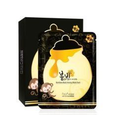 Giá Bán Hộp 10 Miếng Mặt Nạ Dưỡng Ẩm Tinh Chất Mật Ong Bombee Black Honey Mask Pack Paparecipe Nguyên