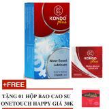 Ôn Tập Hộp 24 Goi Gel Boi Trơn Thai Lan Dạng Goi Nhỏ Kondo Plus Tặng Kem 01 Hộp Bcs Onetouch Happy Kondo