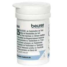 Hộp 25 que thử đường huyết Beurer GL42 nhập khẩu