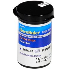 Bán Hộp 25 Que Thử Đường Huyết Microlife Glucoruler Mgr100 Hồ Chí Minh Rẻ