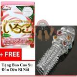 Giá Bán Hộp 3 Bao Cao Su Sagami Sieu Mỏng Sagami Xtreme Strawberry Tặng Bao Cao Su Đon Den Bi Mới