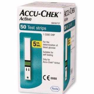Hộp 50 que thử đường huyết Accu-check Active thumbnail
