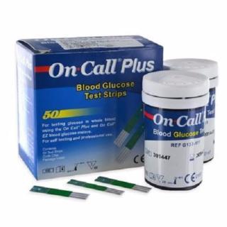 Hộp 50 que thử đường huyết On Call Plus thumbnail