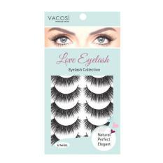 Hộp 6 cặp lông mi giả Vacosi Love Eyelash ET27 (xanh) tốt nhất