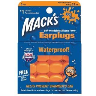 Hộp 6 đôi nút bịt tai chống ồn cho trẻ em Silicon Pillow Soft thương hiệu Mack s (USA) thumbnail