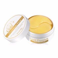 Hình ảnh Hộp 60 miếng mặt nạ dưỡng da vùng mắt cao cấp chứa tinh thể vàng 24K Secret Key 24K Gold Premium First Eye Patch 60pcs