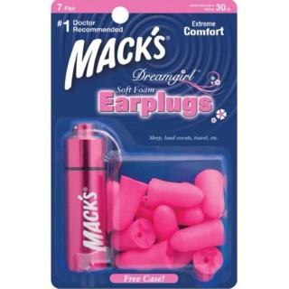 Hộp 7 đôi nút bịt tai chống ồn đặc biệt cho Nữ Dreamgirls kèm hộp đựng nhôm thương hiệu Mack s (USA) thumbnail